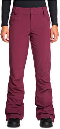 Roxy Juniors' Creek Fleece-Lined Ski Pants