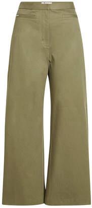 Alexander Wang High-Waisted Wide-Leg Pants