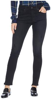 AG Adriano Goldschmied Farrah Skinny Ankle in 3 Years Black Cafe Women's Jeans