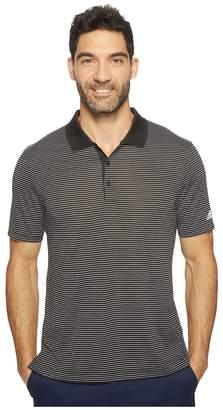 adidas 2-Color Merch Stripe Polo Men's Short Sleeve Pullover