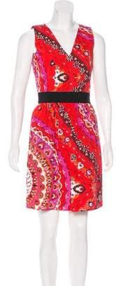 Emilio Pucci Printed Mini Dress