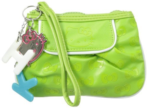 Hello Kitty FAB Starpoint Girls 7-16 Jelly Belly Wristlet Green