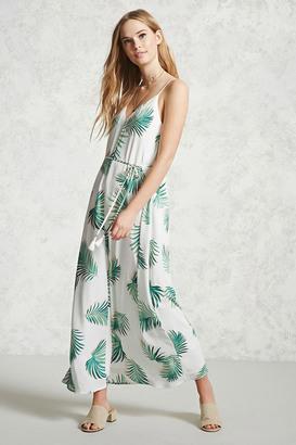 FOREVER 21+ Contemporary Palm Leaf Dress $24.90 thestylecure.com