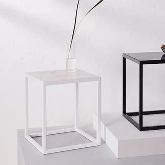 west elm Side Table - Arabescato Marble Surface