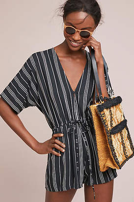 Beachgold Loretta Striped Romper