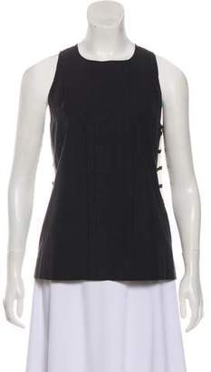 Emilio Pucci Silk-Blend Sleeveless Top