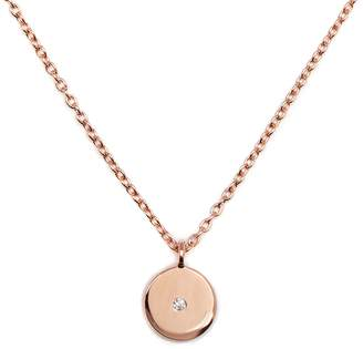 Louise Varberg Jewellery - Diamond Stella Necklace Rose Gold