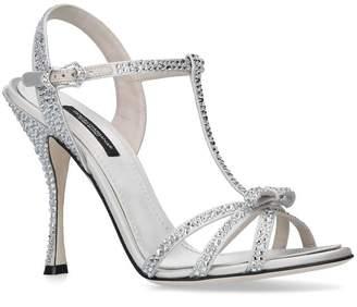 Dolce & Gabbana Embellished Keira Sandals 105