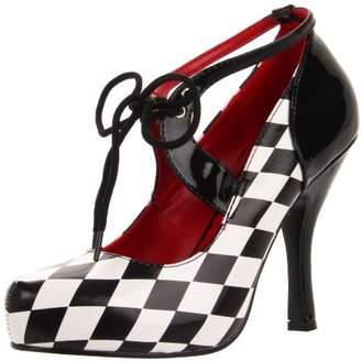 Funtasma Women's Harlequin-03 Closed-Toe Sandals,5 UK 38 EU