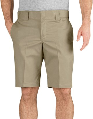 Dickies Men's Slim-Fit Flat-Front Work Shorts
