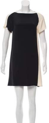 Derek Lam Silk Short Sleeve Mini Dress