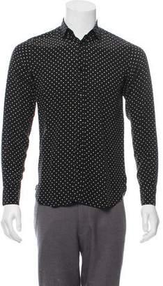 Saint Laurent Silk Star Shirt