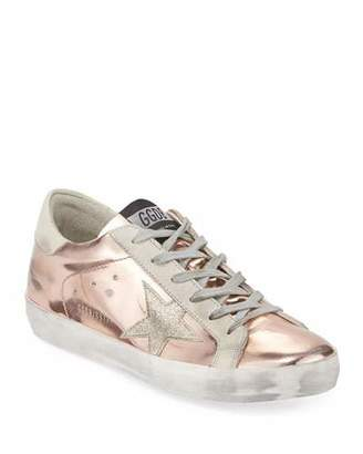 Golden Goose Superstar Metallic Platform Sneakers
