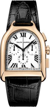 Ralph Lauren Large Chronograph Rose Gold