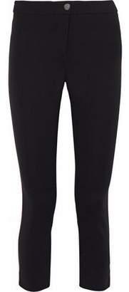 Belstaff Striped Paneled Stretch-Ponte Pants