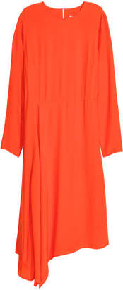 H&M Asymmetric Dress - Orange