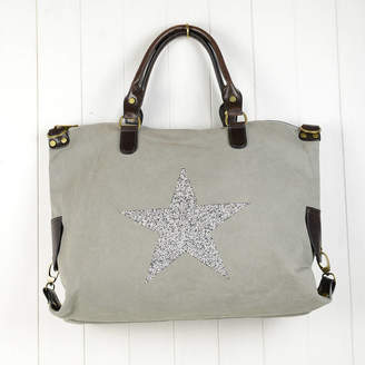 dd706632166a Home   Glory Sparkle Star Gym   Holdall Bag