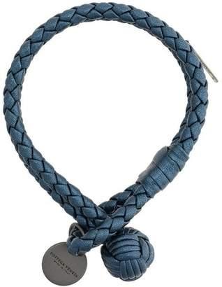 Bottega Veneta denim Intrecciato grosgrain bracelet