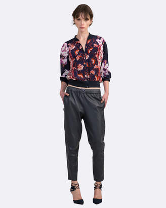 Coco Ribbon Relaxed Rebel Leather Pants
