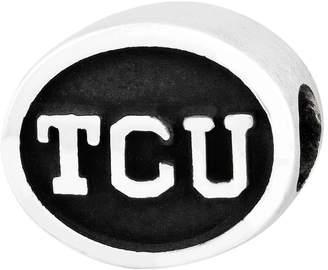 Sterling Silver Texas Christian University Bead