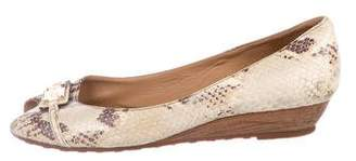 Marc by Marc Jacobs Embossed Leather Flats