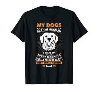 Dog Are The Reason Labrador Dog T-shirt For Women Men