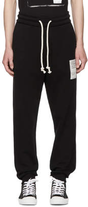 Maison Margiela Black Stereotype Lounge Pants