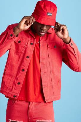 boohoo Regular Fit Denim Western Jacket