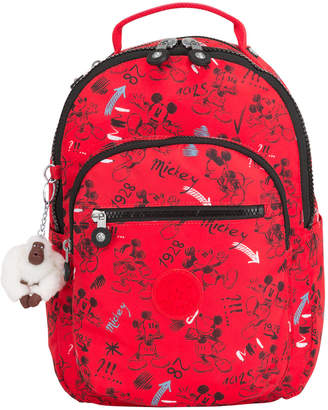"Kipling Seoul Go Small Disney's Minnie Mouse and Mickey Mouse 11"" Laptop Backpack"