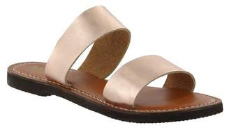 Mia Nila Leather Slide Sandal
