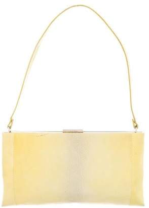 Calvin Klein Collection Snakeskin Shoulder Bag