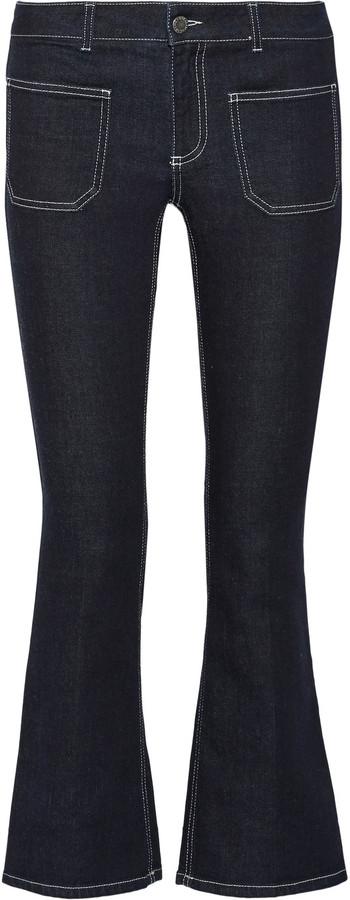 Stella McCartneyStella McCartney Skinny Kick mid-rise cropped slim-leg jeans