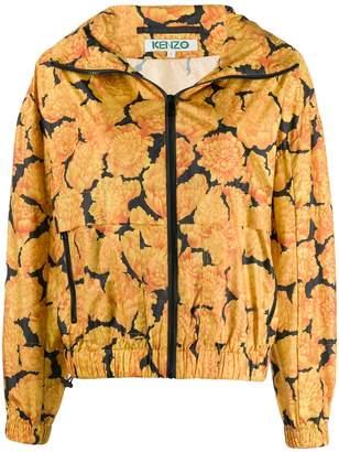 Kenzo peonie windbreaker jacket