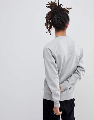 Carhartt WIP Chase Sweatshirt In Gray