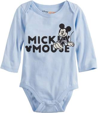 Osh Kosh Disneyjumping Beans Disney's Mickey Mouse Baby Girl Bodysuit by Jumping Beans