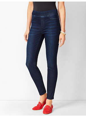 Talbots Sculpt Pull-On Denim Jegging - Empire Wash