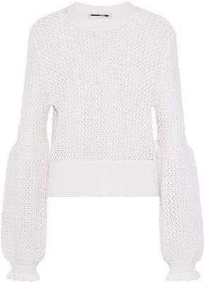 McQ Open-Knit Wool Sweater