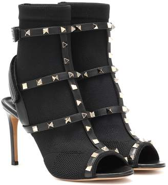 Valentino Cage Rockstud sandals