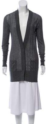Brunello Cucinelli Silk Knit Cardigan