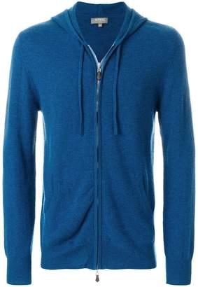 N.Peal zip-up hooded jacket