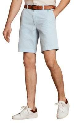 Brooks Brothers Red Fleece Seersucker Cotton Shorts