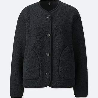 Uniqlo Women's Fleece Collarless Jacket