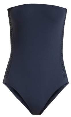 Eres Polarize Bandeau Swimsuit - Womens - Navy