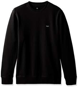 Obey Men's Midway Crew Neck Fleece Sweatshirt