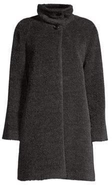 Cinzia Rocca Suri Alpaca& Wool Coat