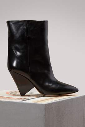 Isabel Marant Luliana leather ankle boots