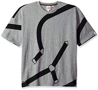 Lacoste Men's All-Over Print Jersey Tee