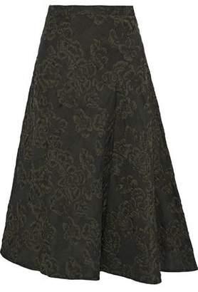 Erdem Mina Cloqué-Jacquard Skirt