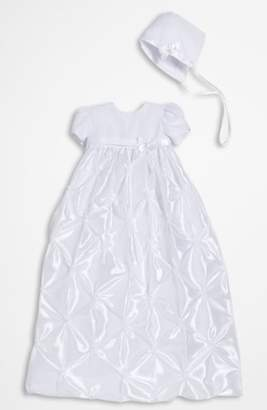 Little Things Mean a Lot Taffeta Gown & Bonnet