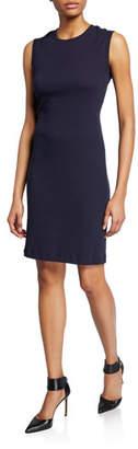 Helmut Lang Crewneck Sleeveless Jersey Dress